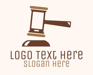 Mallet - Brown Mobile Justice logo design