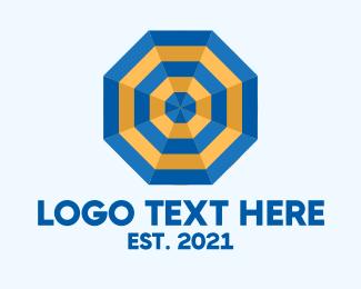 Octagon - Octagon Umbrella logo design