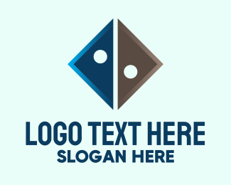Dice - Triangle Tech Company logo design