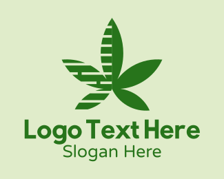 Marijuana - Marijuana Stripes  logo design