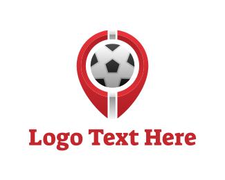 Fc - Soccer Football Circle logo design