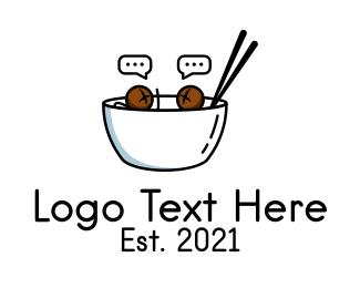 Social Media - Food Social Media  logo design