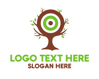 Leadership - Tree Target logo design