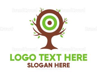 Target - Tree Target logo design