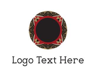 Frisbee - Floral Bowl logo design