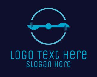 Machinery - Spinning Propeller logo design