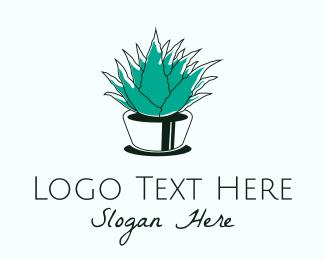 Turf - Green Aloe Vera logo design