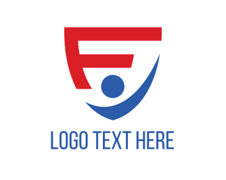 Fc - Shield Letter F logo design
