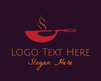 Pan - Red Pan logo design