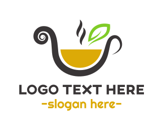 Tea - Orange Tea logo design