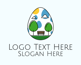 Leisure - Easter Egg Park logo design