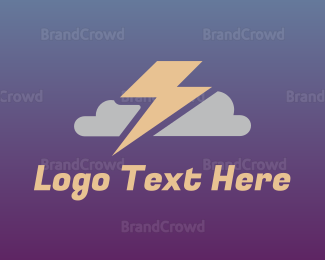 Cloud Drive - Stormy Cloud logo design