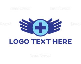 Hand - Healing Hands logo design