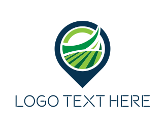 Field - Field Locator logo design
