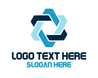 Company - Geometric Star logo design