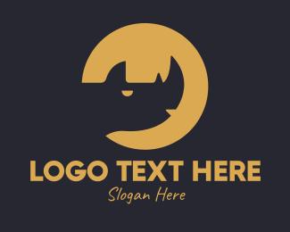 Wildlife - Rhino Animal Wildlife  logo design