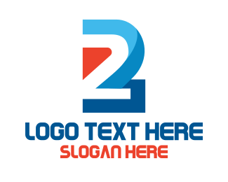 Two - Industrial Tech Number 2 logo design