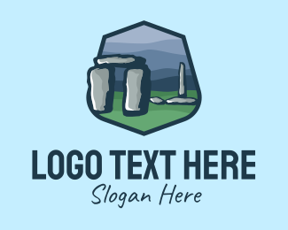 Tourist Attraction - Stonehenge Tourist Spot logo design