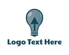 Light - Click & Light logo design