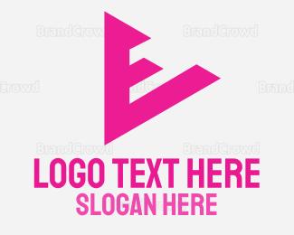Player - E Player App logo design