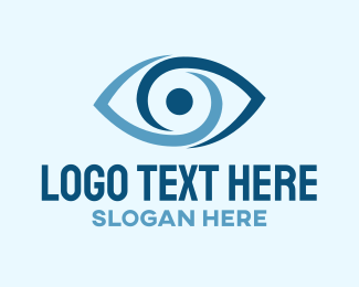 Eye - Blue Eye logo design