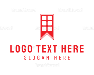 Travel Agent - London Book logo design