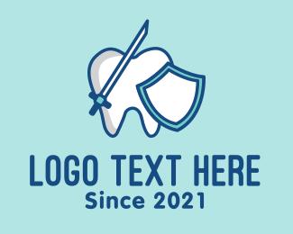 Dental - Dental Tooth Enamel logo design