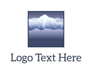 Mountain - Snow & Mountains logo design
