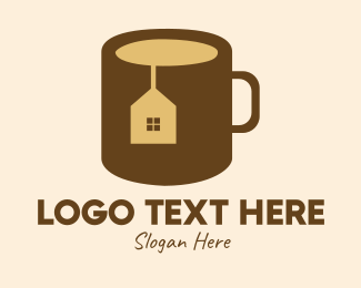 Tea House - Realty House Tea Mug logo design