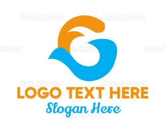 Letter G - Letter G Wave logo design