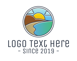 Badge - Mountain Lagoon Badge logo design