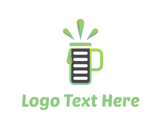 Smoothie - Drinks List logo design