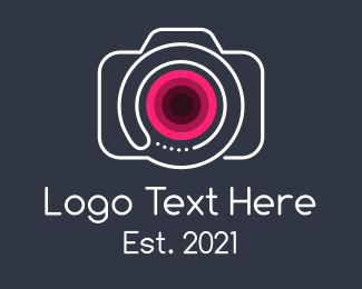 Camera  App - Minimalist Vlogging Camera  logo design