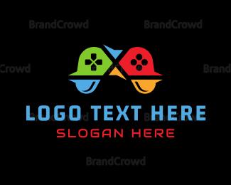 Remote - Geek Controller logo design