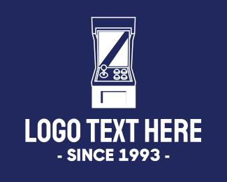 Twitch - Retro Video Game Console logo design