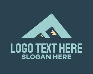 """""""Mountain Peak Letter F"""" by SimplePixelSL"""