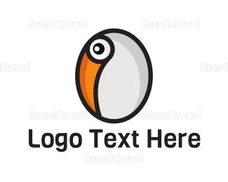 Egg - Toucan Egg logo design