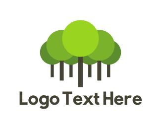 Green - Green Forest logo design