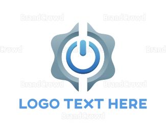 Appliances - Power Button logo design