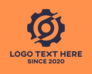 Cogs - Industrial Circle Cog logo design