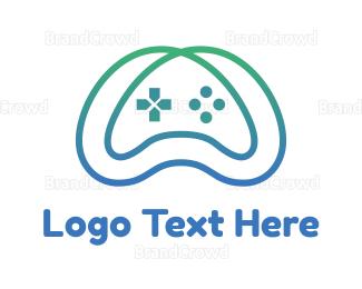 Remote - Gradient Infinity Controller logo design