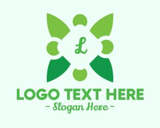 Natural Park - Organic Lettermark logo design