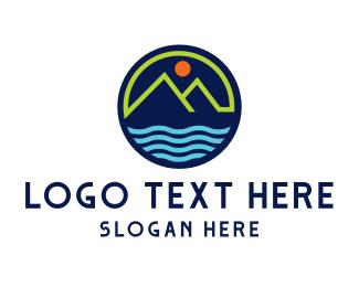 Resort - Green Mountain Resort logo design