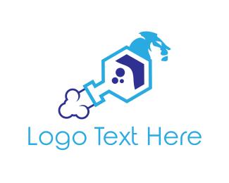 Laboratory - Lion Laboratory logo design
