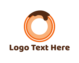 Chocolate - Chocolate Donut logo design