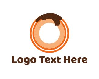 Chocolate Donut Logo