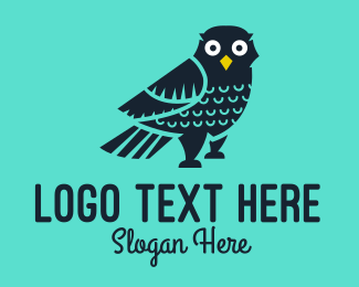 Jungle Animal - Aviary Wild Owl  logo design