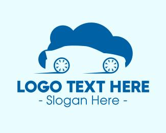 Hybrid - Automobile Cloud logo design