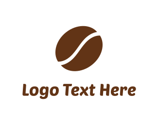 Latte - Coffee Bean  logo design