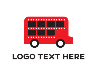 Tour - London Bus logo design
